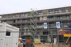 Baustelle Ende Januar 2020