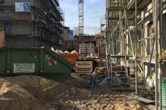 Baustelle Mitte Februar 2020