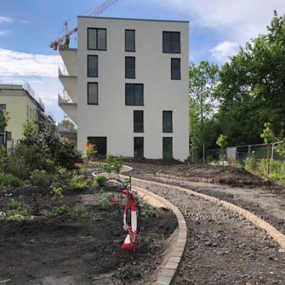 1. Mai 2020: Blick in den Garten